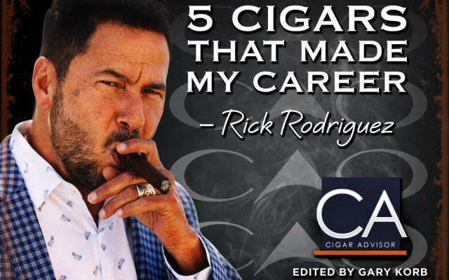 cao cigars rick rodriguez top 5 cigars career CACover
