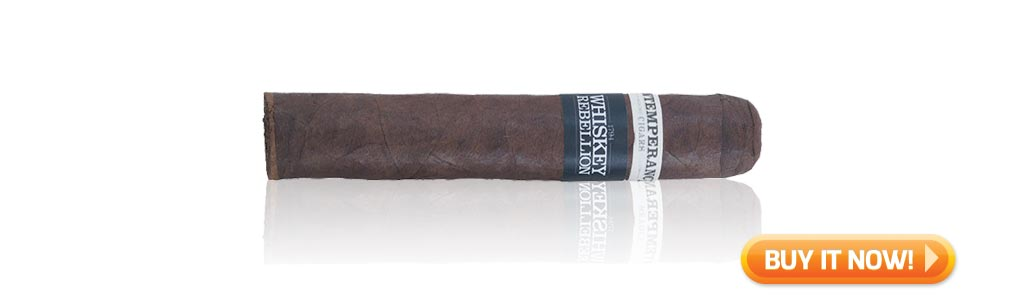 top boutique cigars for beginners roma craft intemperance whiskey rebellion cigars