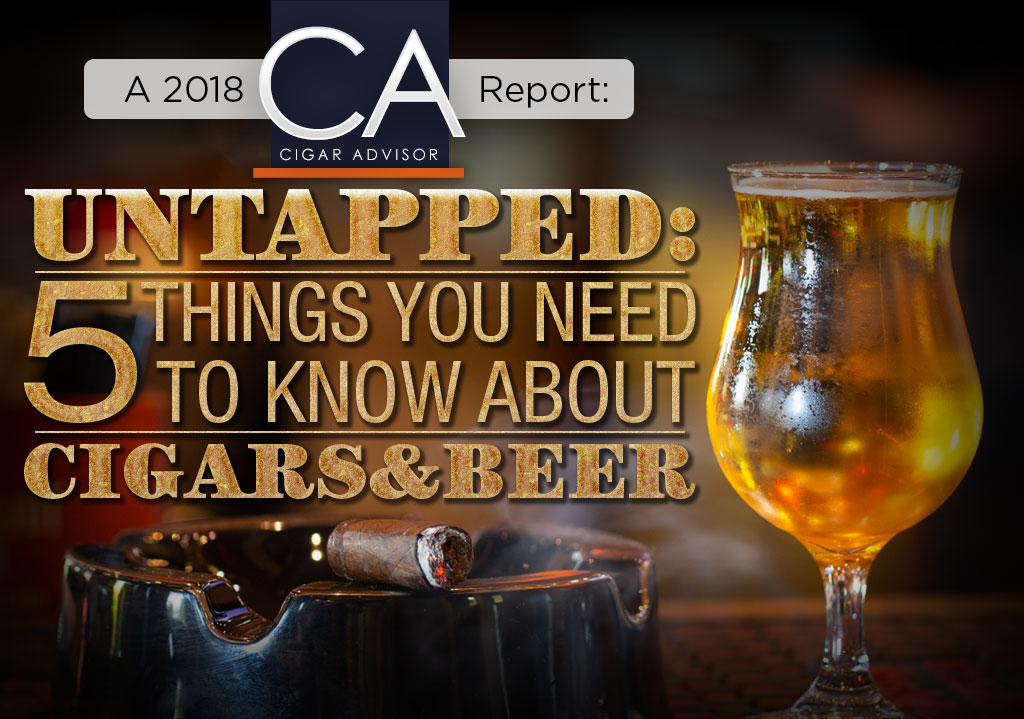 5 Things You Need to Know About… Cigars and Beer