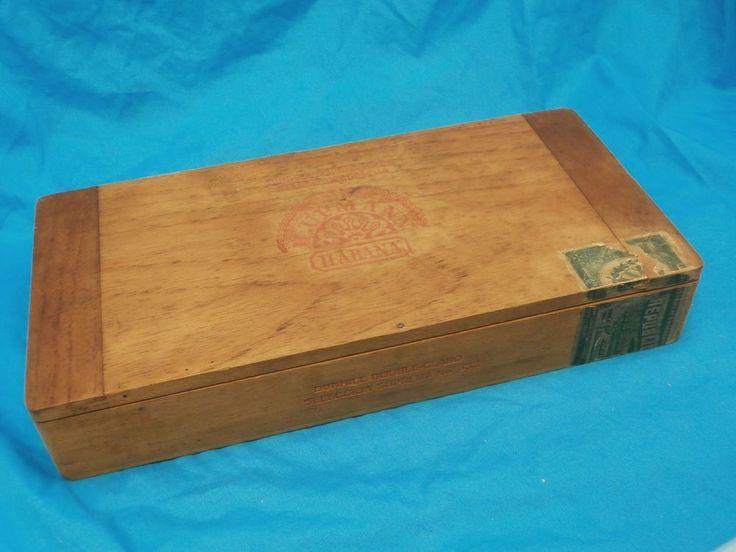 h upmann cigars box vintage