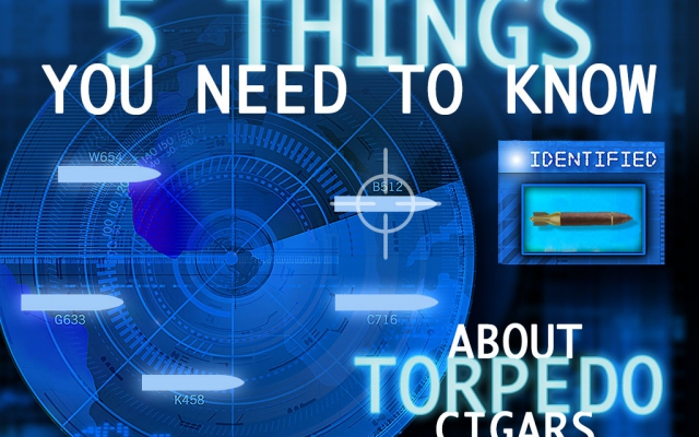 5 Things About Torpedo Cigars CACover