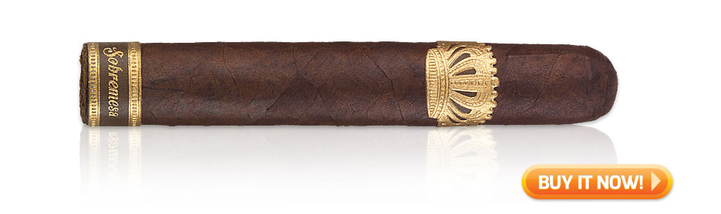 best short cigars Sobremesa Short Churchill cigars