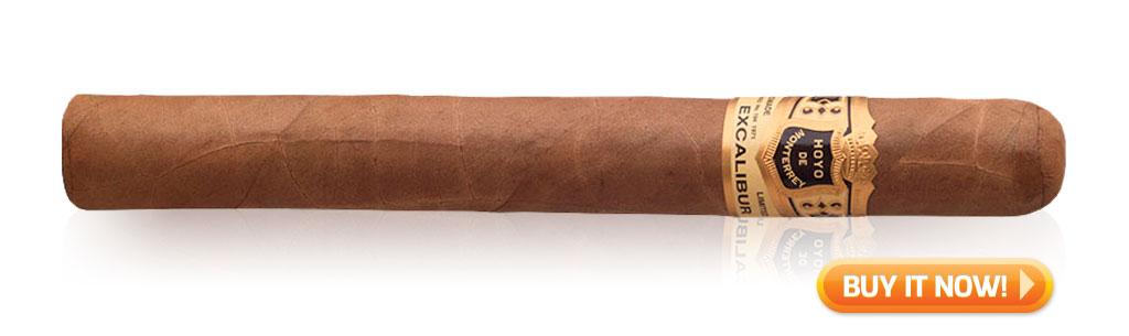 build a cigar collection every day cigars hoyo excalibur cigars