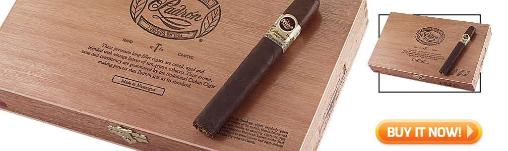 2018 best cigar gifts for christmas guide padron 1964 anniversary maduro cigars bin