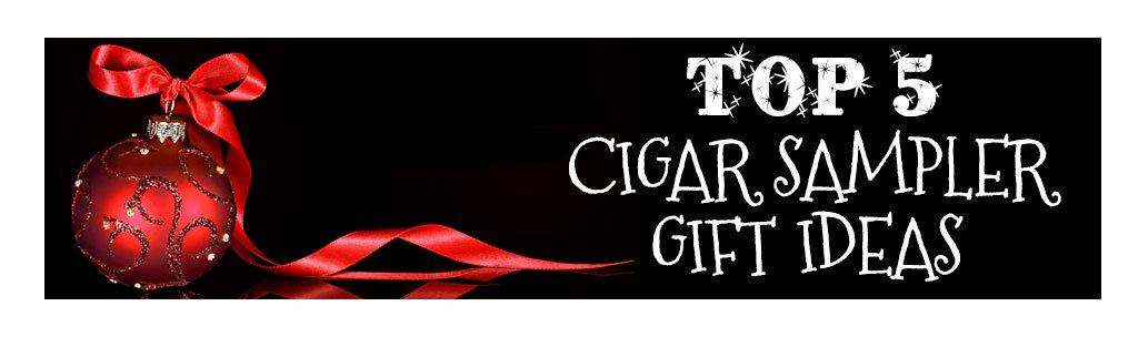 2018 best cigar gifts for christmas guide top 5 cigar sampler gift ideas banner