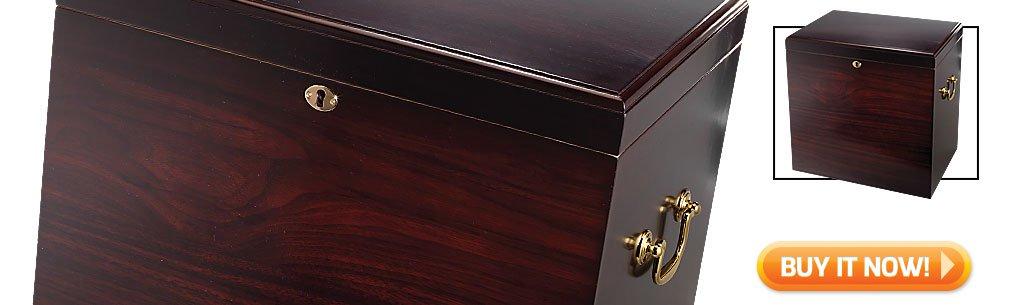 2018 best cigar gifts for christmas guide top cigar humidor gifts foot locker large capacity humidor bin