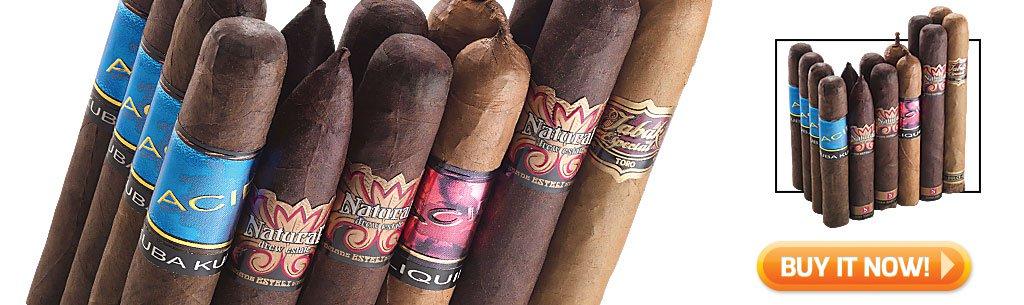 2018 best cigar gifts for christmas guide top cigar sampler gifts acid cigars sampler bin