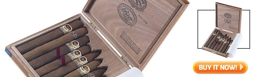 2018 best cigar gifts for christmas guide top cigar sampler gifts best of padron cigars sampler bin