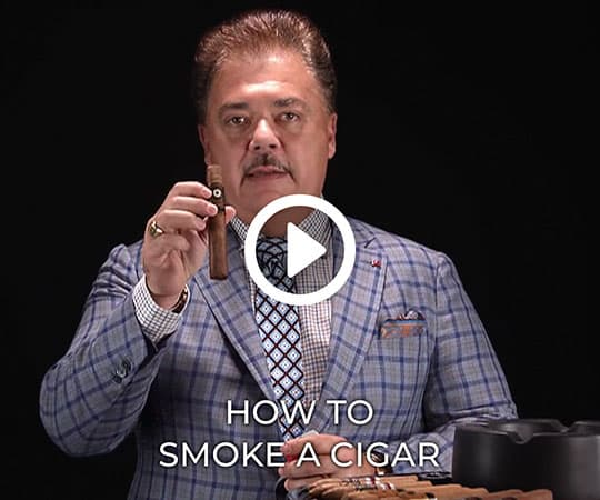 How to smoke a cigar with Nick Perdomo