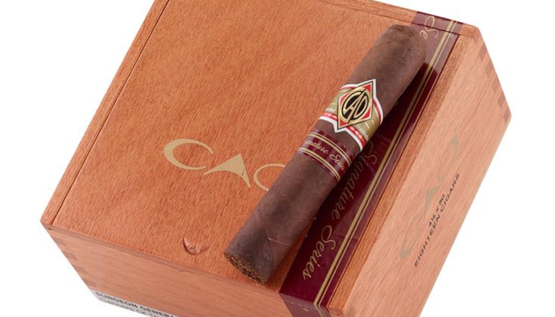 cao signature series cigar review robusto box