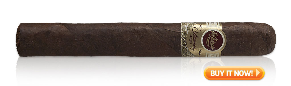 cigar journal trophy award cigars 2018 padron 1964 maduro cigars