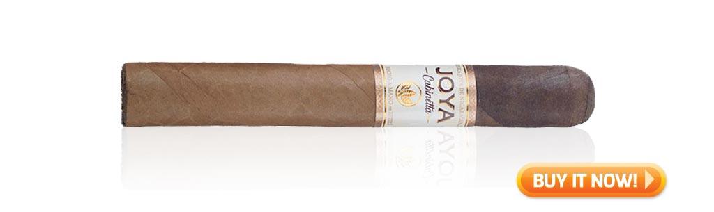 flavor profiles joya de nicaragua cabinetta cigars