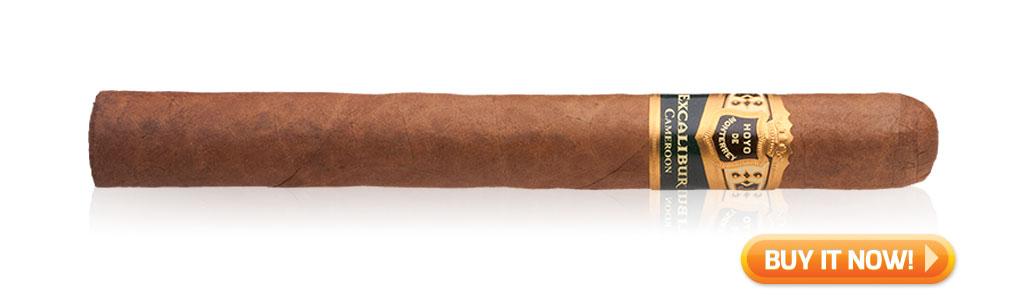 hoyo de monterrey excalibur cameroon cigar review bin