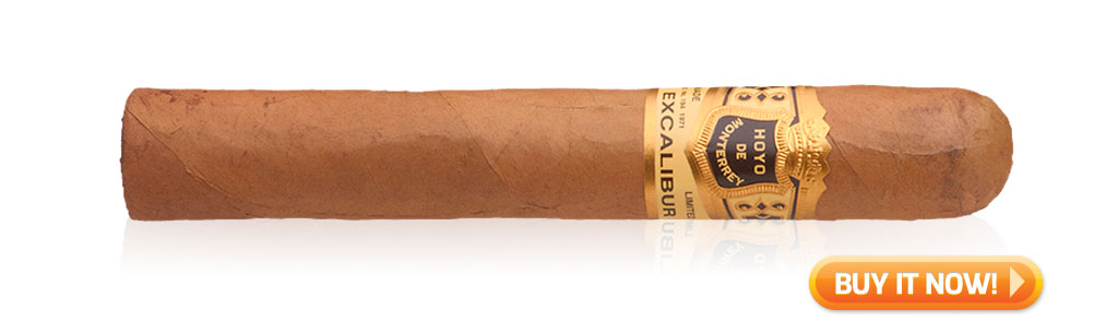 hoyo de monterrey excalibur cigar review bin