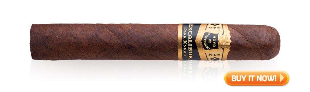 hoyo de monterrey excalibur dark knight cigar review bin