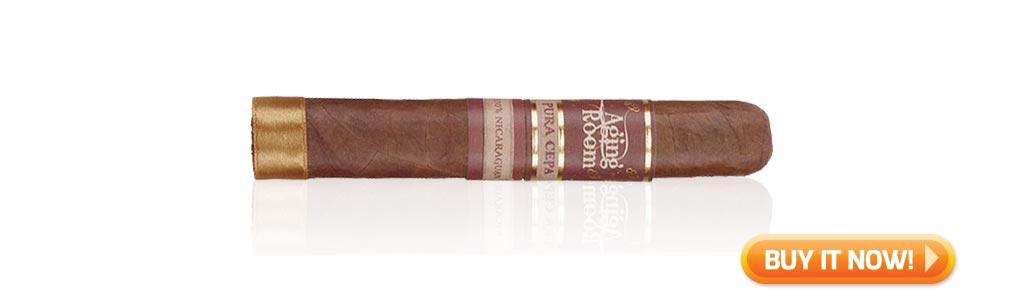 nowsmoking aging room pura cepa cigar review bin