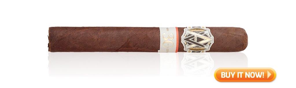 nowsmoking avo maduro 30th anniversary cigar review bin