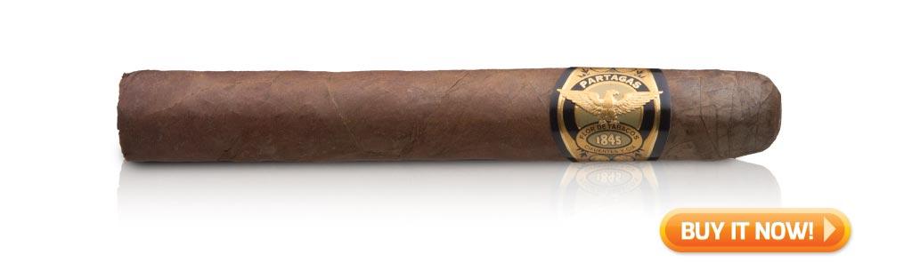 nowsmoking partagas 1845 clasico robusto cigar review bin