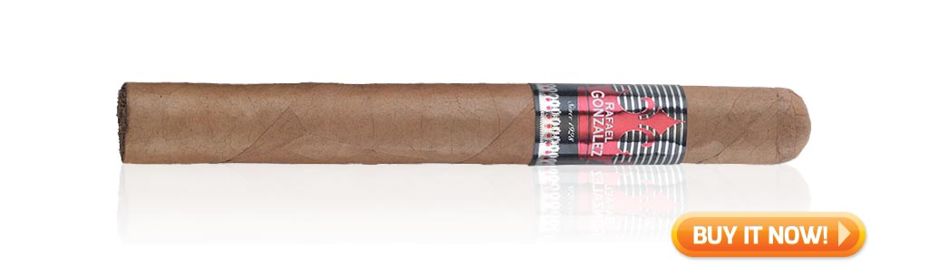 nowsmoking rafael gonzalez churchill cigar review bin