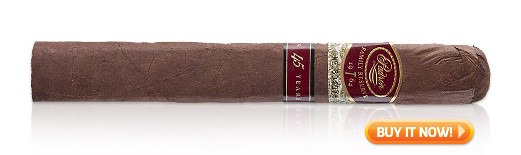 top wedding cigars padron family reserve cigars 45 bin