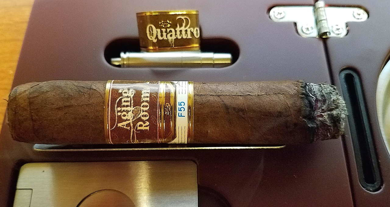nowsmoking Aging Room Small Batch Quattro F55 cigar review by Gary Korb