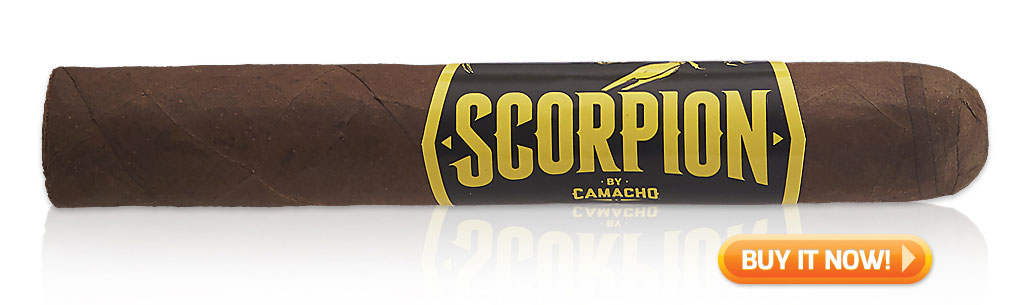 Shop Camacho Scorpion cigars at Famous Smoke Shop