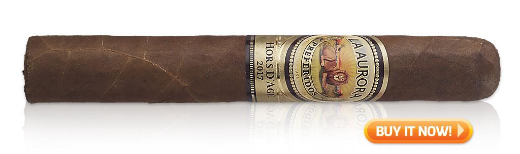 Shop la aurora preferido hors d'age cigars at Famous Smoke Shop