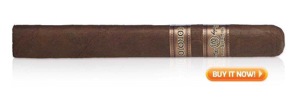 Shop Rocky Patel Olde World Reserve Corojo cigars at Famous Smoke Shop