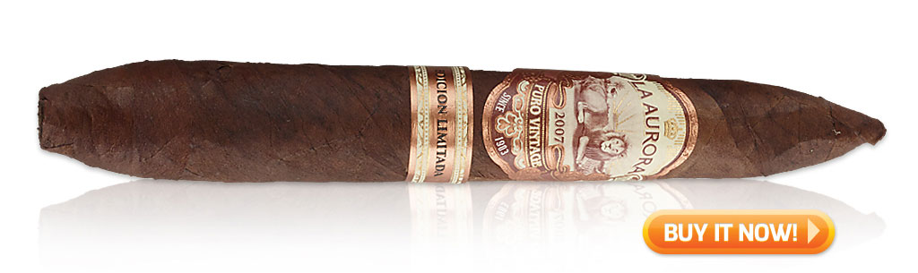 Shop La Aurora Puro Vintage 2007 cigars at Famous Smoke Shop