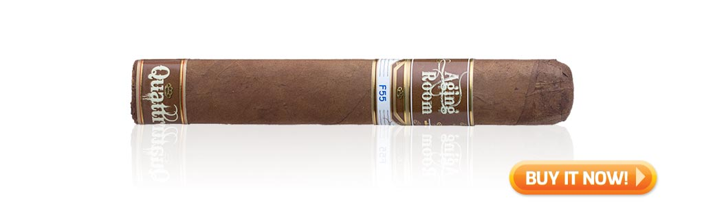 Shop Aging Room Small Batch Quattro F55 cigars at Famous Smoke Shop