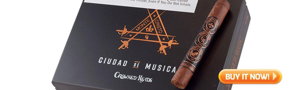 Shop Montecristo Ciudad de Musica cigars at Famous Smoke Shop