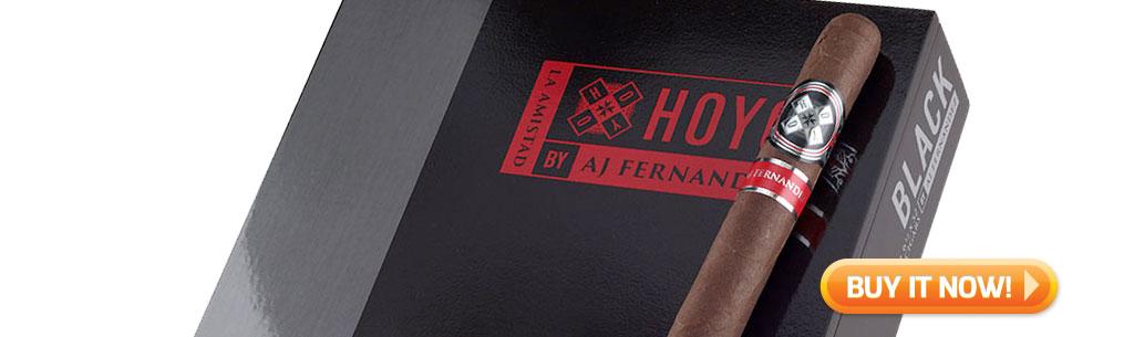 Shop new Hoyo La Amistad Black Cigars at Famous Smoke Shop