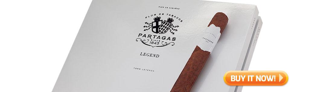 Shop new Partagas Legend cigars at Famous Smoke Shop