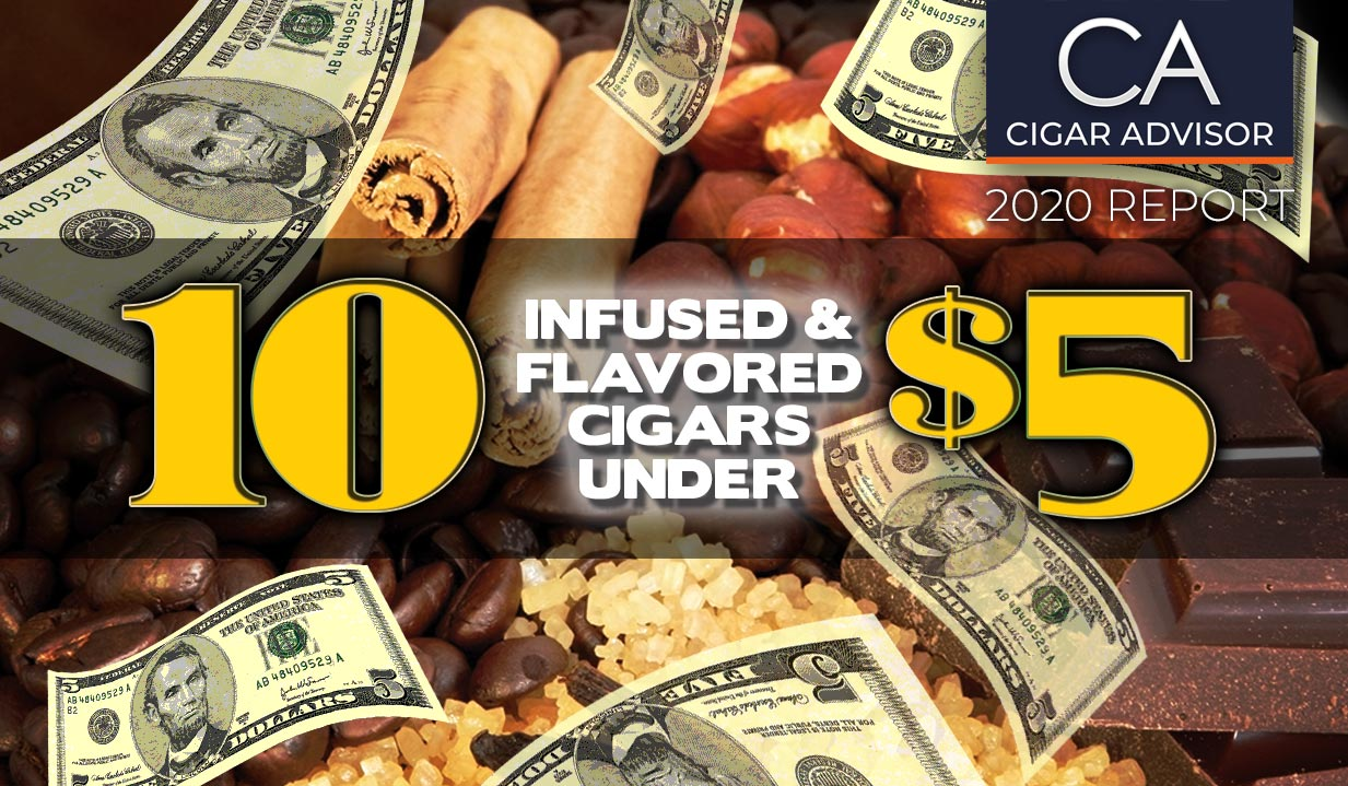 2020 Ca Report 10 Infused Flavored Cigars Under 5