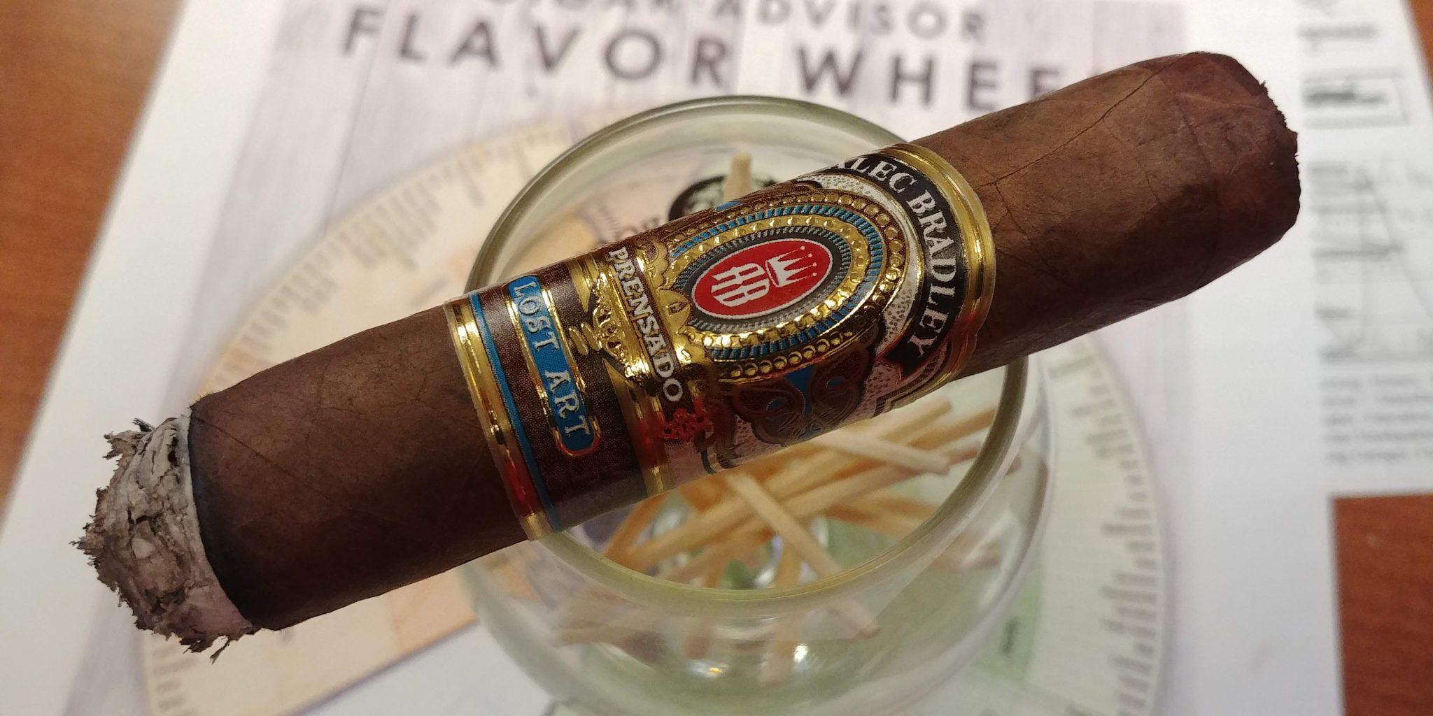 Alec Bradley cigars guide Alec Bradley Prensado Lost Art Robusto cigar review by John Pullo