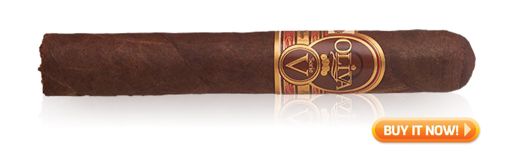 Top 10 Best Cigars to Pair with Rum - Oliva Serie V Maduro cigars - Buy it Now