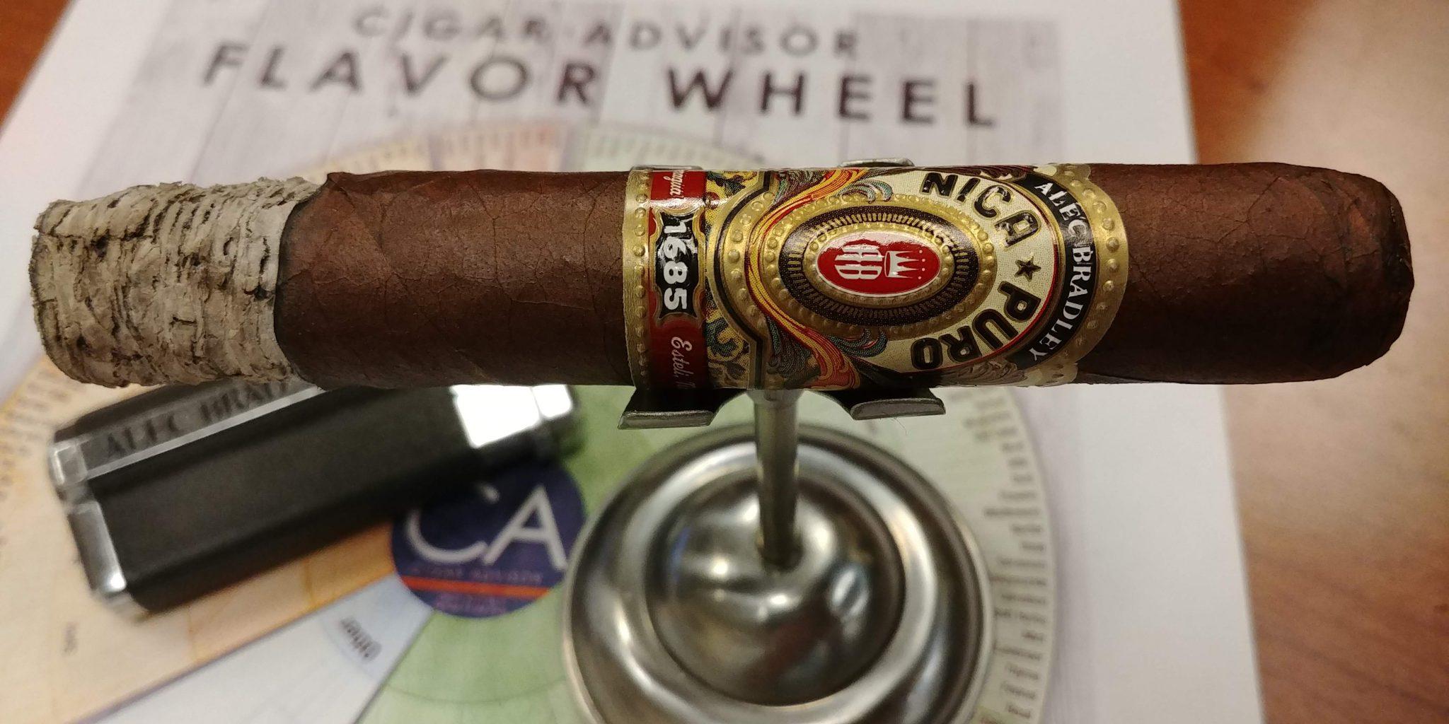 Alec Bradley cigars guide Alec Bradley Nica Puro Robusto cigar review by John Pullo
