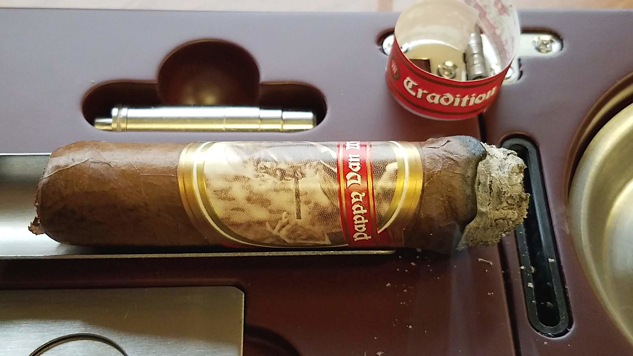 nowsmoking pappy van winkle tradition toro cigar review by Gary Korb