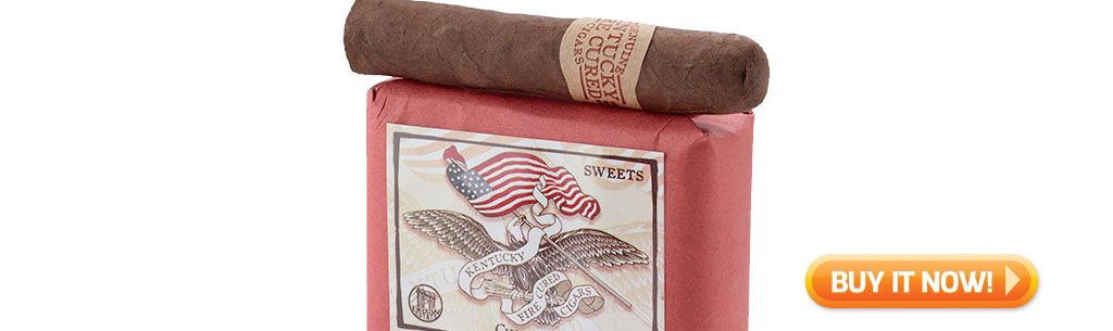 Shop new Kentucky Fire Cured Sweets cigars at Famous Smoke Shop