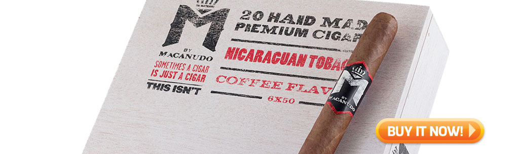Shop new M by Macanudo cigars at Famous Smoke Shop