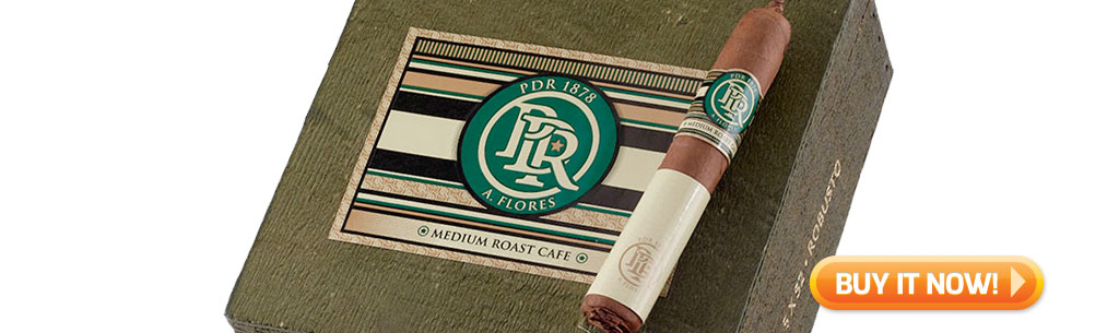 Shop new PDR 1878 Medium Roast Cafe cigars at Famous Smoke Shop