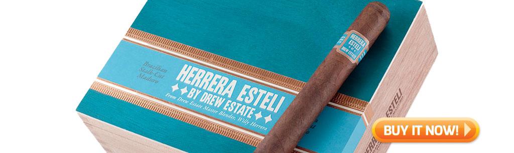 top new cigars jan 21 2019 - herrera esteli brazilian maduro cigars BIN