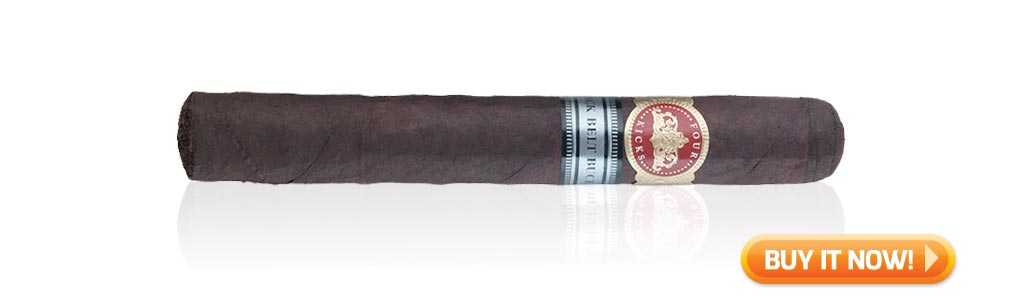 top strong cigars crowned heads four kicks black belt buckle cigars at Famous Smoke Shop