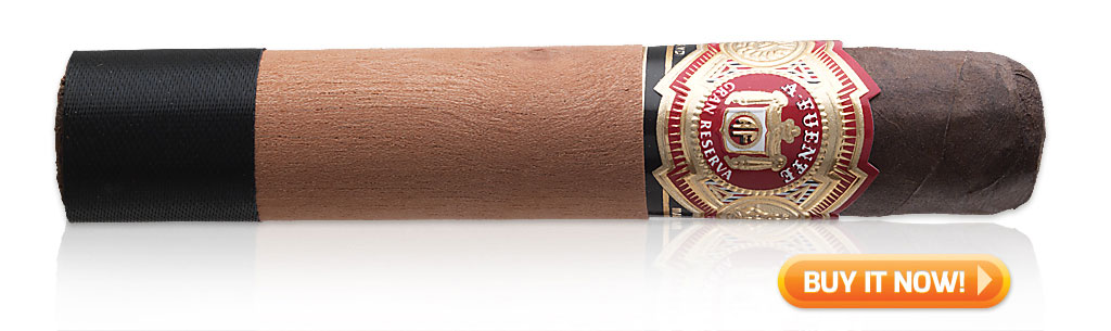 Top 10 cigars to smoke on National Cigar Day Arturo Fuente Sun Grown Chateau Fuente cigars at Famous Smoke Shop