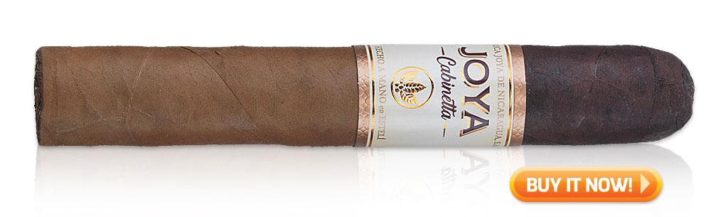Joya de Nicaragua cigars guide joya de nicaragua jdn joya cabinetta cigar review at Famous Smoke Shop