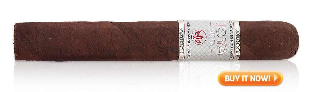 Joya de Nicaragua cigars guide joya de nicaragua jdn joya silver cigar review at Famous Smoke Shop