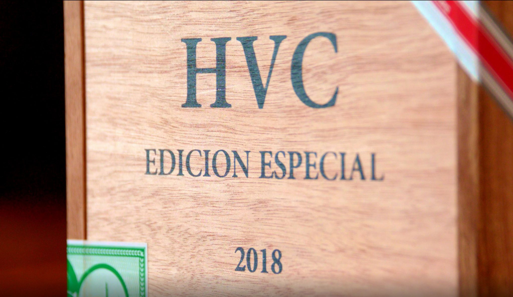 HVC edicion especial 2018 cigar review corona box of cigars image