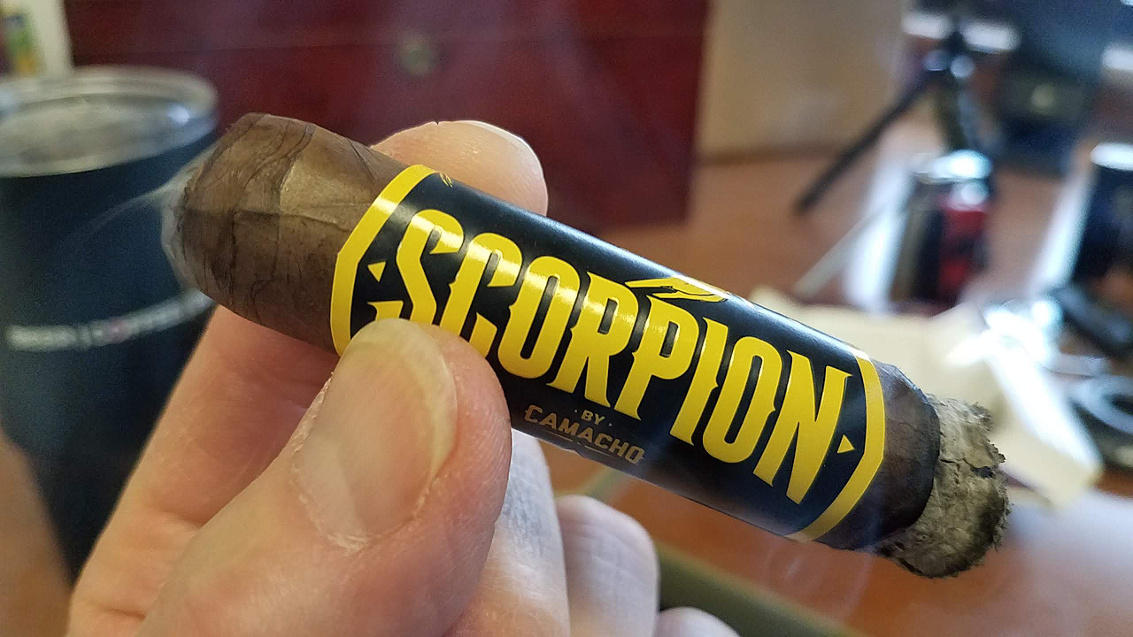 nowsmoking camacho scorpion cigar review by Gary Korb camacho scorpion sun grown cigars