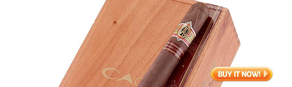 top new cigars feb 4 2019 CAO signature cigars at Famous Smoke Shop