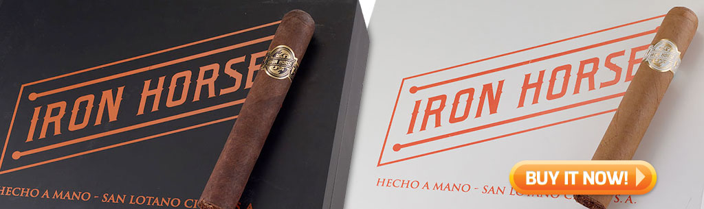 top new cigars feb 4 2019 iron horse cigars by AJ Fernandez at Famous Smoke Shop
